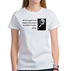 Karl Marx 3 Women's T-Shirt