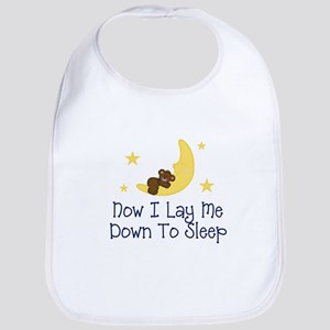 Now I Lay Me Down to Sleep Bib