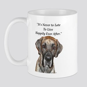 Great Dane Happily Ever After Mug