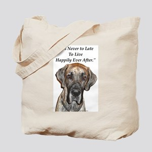 Great Dane Happily Ever After Tote Bag