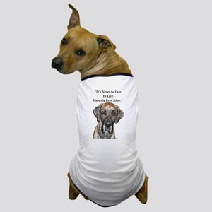 Great Dane Happily Ever After Dog T-Shirt