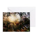 Enchanted Forest #1 Greeting Cards (Pack of 6)