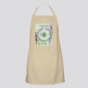bee lavender french country Apron