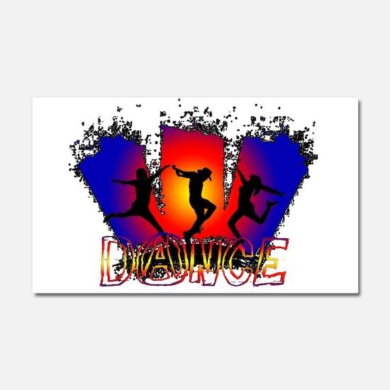 Dance Car Magnet 20 x 12