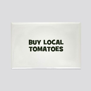 buy local tomatoes Rectangle Magnet