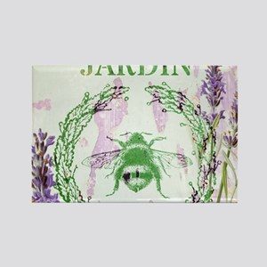 bee lavender french country Magnets