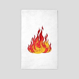 FIRE FLAMES Area Rug
