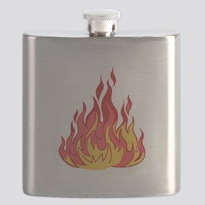 FIRE FLAMES Flask