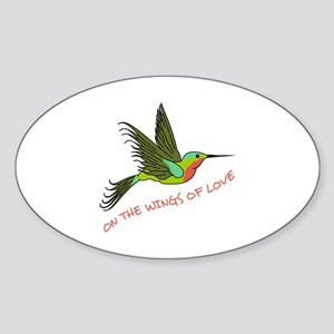 ON THE WINGS OF LOVE Sticker