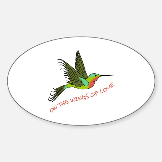 ON THE WINGS OF LOVE Decal