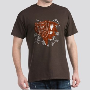 Tribal Bear Dark T-Shirt