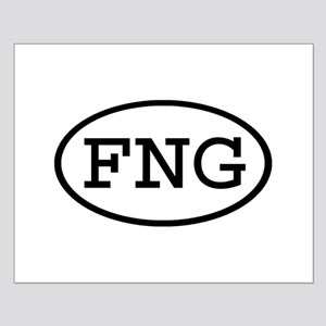FNG Oval Small Poster