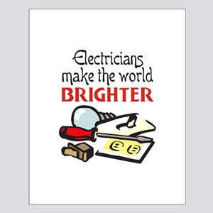 MAKE WORLD BRIGHTER Posters