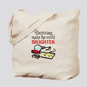 MAKE WORLD BRIGHTER Tote Bag