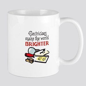 MAKE WORLD BRIGHTER Mugs