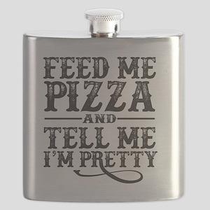 Feed Me Pretty Flask
