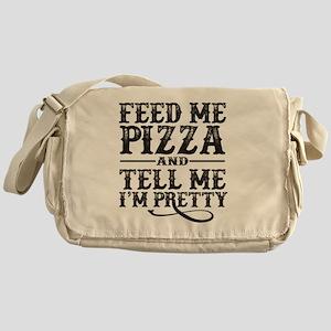 Feed Me Pretty Messenger Bag