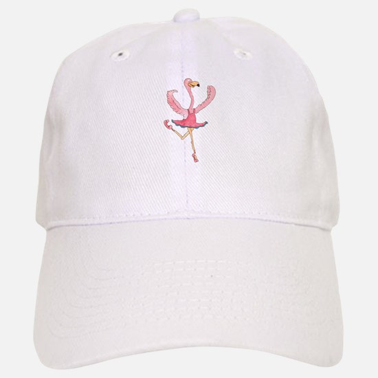 Ballerina Flamingo Baseball Baseball Baseball Cap
