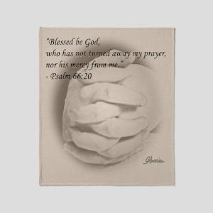Blessed Be God Throw Blanket
