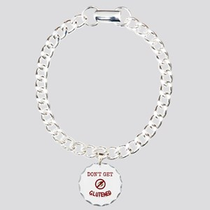 Don't Get Glutened Charm Bracelet, One Charm