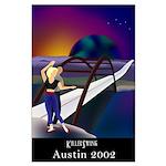 Austin 360 Bridge Large Poster