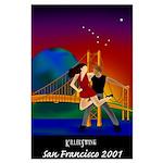 Large Killer Swing San Francisco Poster