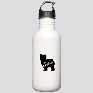 Yorkiepoo Love Stainless Water Bottle 1.0L