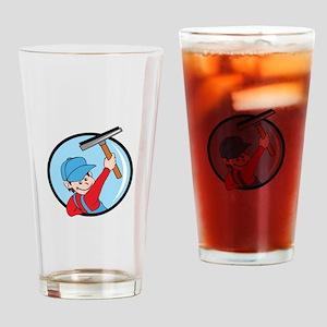 Handyman Drinking Glass