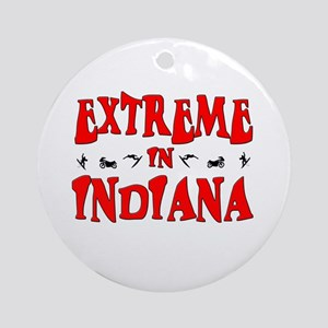 Extreme Indiana Ornament (Round)