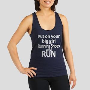 Run Racerback Tank Top