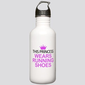 Running Shoes Princess Stainless Water Bottle 1.0L