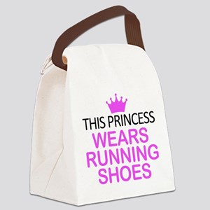 Running Shoes Princess Canvas Lunch Bag