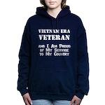Vietnam Era Veteran Women's Hooded Sweatshirt