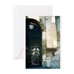 Gateway and bottle Greeting Cards