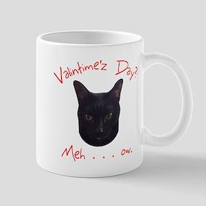 Valentine's Cat Meh Mugs