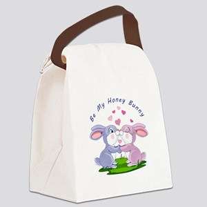 Honey Bunny- Canvas Lunch Bag