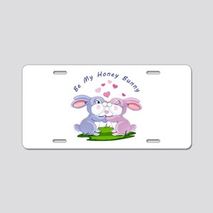 Honey Bunny- Aluminum License Plate