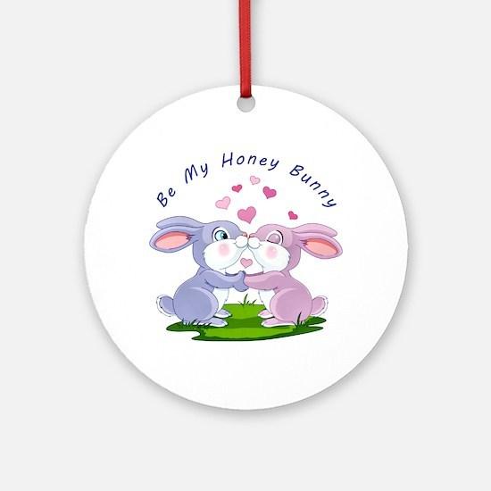 Honey Bunny- Ornament (Round)