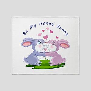 Honey Bunny- Throw Blanket