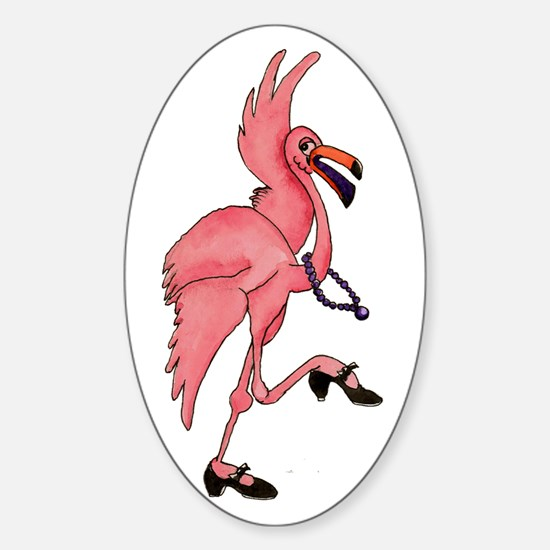 Flamingo Dancer Decal