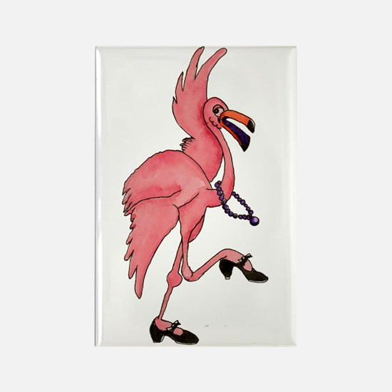 Flamingo Dancer Magnets