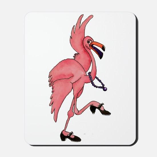 Flamingo Dancer Mousepad