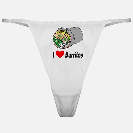 I heart burritos Classic Thong