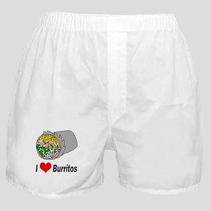 I heart burritos Boxer Shorts