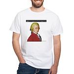 Mozart Nacht Musik White T-Shirt