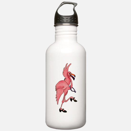 Flamingo Dancer Water Bottle