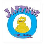 Jarthur Logo Square Car Magnet 3