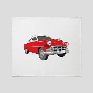 CLASSIC CAR SM Throw Blanket