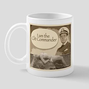 Clit Commander Mug