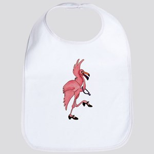 Flamingo Dancer Bib